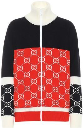 Gucci Zipped wool jacket