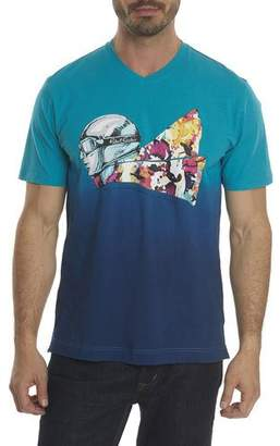 Robert Graham Into the Wind Ombré-Graphic T-Shirt