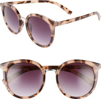 BP 53mm Round Sunglasses