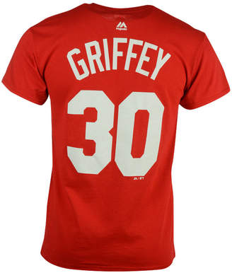 Majestic Men Ken Griffey Sr. Cincinnati Reds Cooperstown Player T-Shirt
