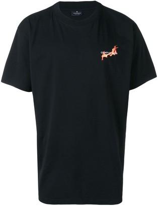 Marcelo Burlon County of Milan Flaming Basketball print T-shirt