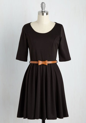 Coco Love Abiding Beauty A-Line Dress in Black $59.99 thestylecure.com