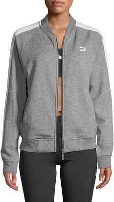 Puma Classics Logo T7 Track Jacket, Gray