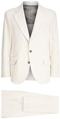 Brunello Cucinelli Corduroy Two-Piece Suit