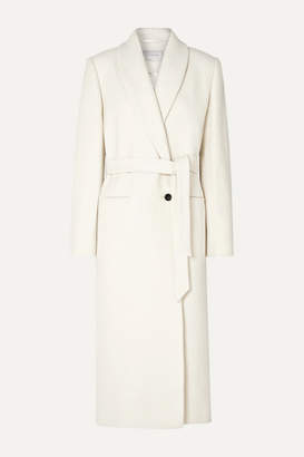 Off-White La Collection - Marcellina Belted Wool-bouclé Coat