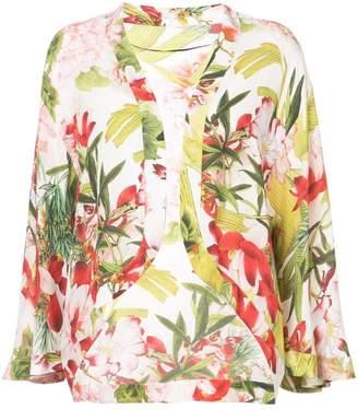 Josie Natori Paradise Floral jacket