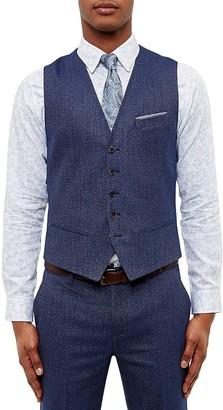 Ted Baker Semi Plain Waistcoat $225 thestylecure.com