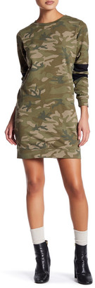 Fire Camo Sweatshirt Dress $49 thestylecure.com