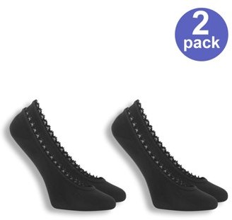 Dr. Scholl's Women's For Her Fashion Fit Ghost Liner Socks, 2-Pack