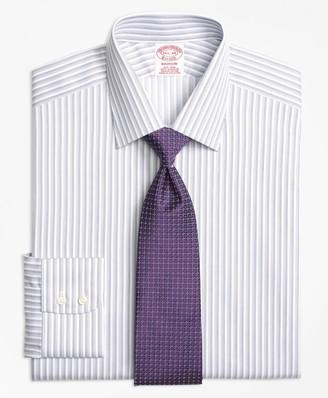 Brooks Brothers Madison Classic-Fit Dress Shirt, Non-Iron Twin Stripe