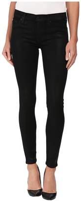 Hudson Krista Coated Super Skinny Jeans in Noir Coated Women's Jeans