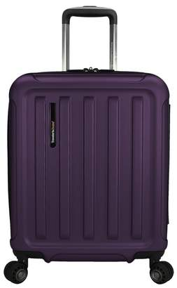 """Traveler's Choice The Art of Travel 20\"""" Carry-On Expandable Spinner Suitcase"""