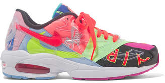 Nike Atmos Air Max2 Light Pvc And Mesh Sneakers - Pink