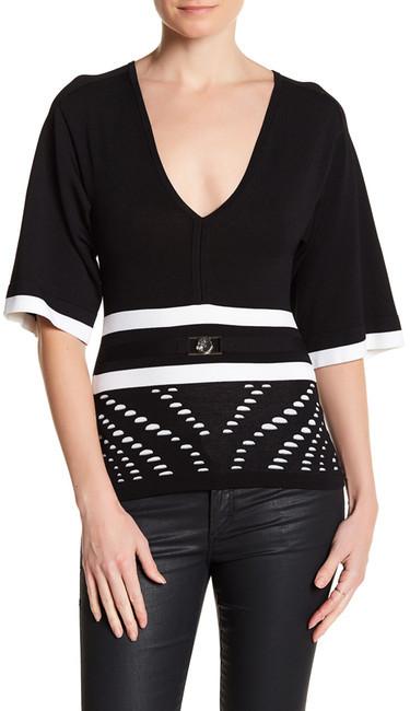 VersaceVersace Knit V-Neck Sweater