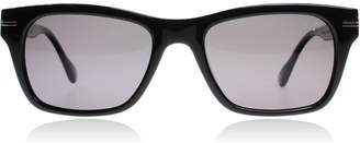 Dunhill SDH014 Shiny Black 700P 52 Sunglasses Shiny Black 700P Polariserade 52mm