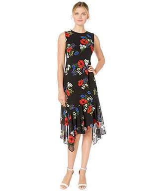 56382eac494835 Calvin Klein Chiffon Dresses - ShopStyle