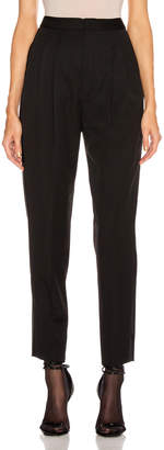 Saint Laurent Tailored Pant in Black | FWRD