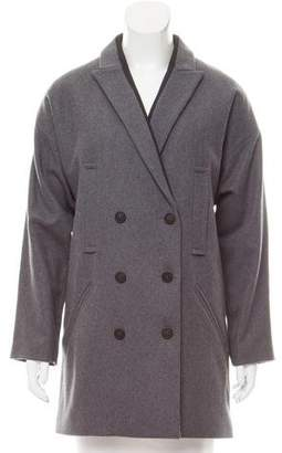 Zadig & Voltaire Double-Breasted Wool Coat w/ Tags