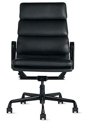 Design Within Reach Herman Miller Eames Soft Pad Executive Chair, Black at DWR