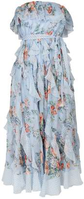 Zimmermann Bowie Floral Waterfall Dress