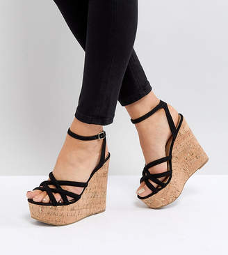 Asos Tulita Wide Fit High Wedges