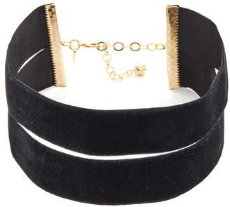 Vanessa Mooney The Effie Velvet Choker Necklace $48 thestylecure.com