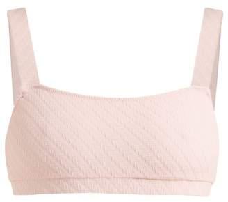 Solid & Striped The Madison Bandeau Bikini Top - Womens - Light Pink