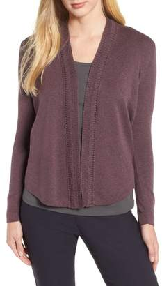 Nic+Zoe Enhance Open Front Cardigan