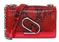3.1 Phillip Lim Women's Alix Python Print & Leather Convertible Clutch
