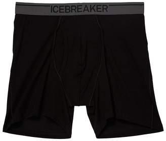 Icebreaker Anatomica Merino Boxers w/ Fly Men's Underwear