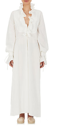BY. Bonnie Young Women's Cotton Ruffle Maxi Dress $1,600 thestylecure.com