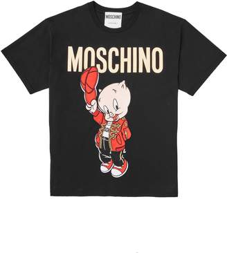 Moschino Porky Pig Graphic Tee