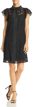 Nanette Lepore nanette Cap Sleeve Lace Shift Dress