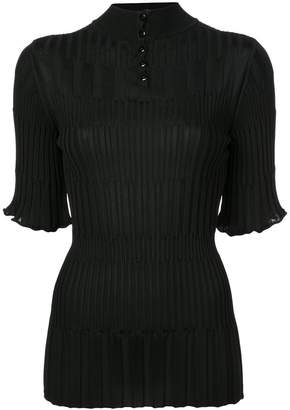 Carolina Herrera ribbed knit top
