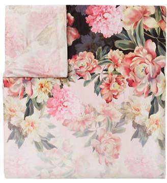 Ted Baker Painted Posies Cotton Sham & Duvet Cover Set