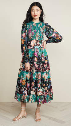 Zimmermann Allia Tiered Long Dress
