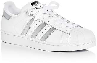 Adidas Women's Superstar Lace Up Sneakers $80 thestylecure.com