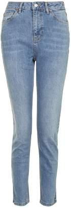 Topshop Mid Blue Orson Slim Jeans