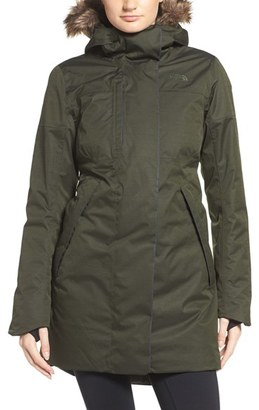 Women's The North Face Crestmont Waterproof Down Parka With Faux Fur Trim $349 thestylecure.com