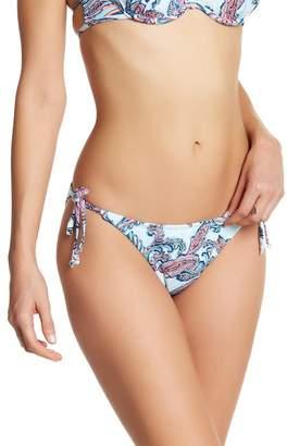 The Bikini Lab Shreds String Tie Bikini Bottoms