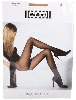 Wolford Individual 10 Tights w/ Tags