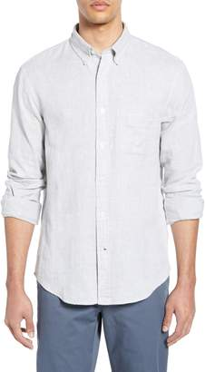 Club Monaco Trim Fit Double Face Sport Shirt