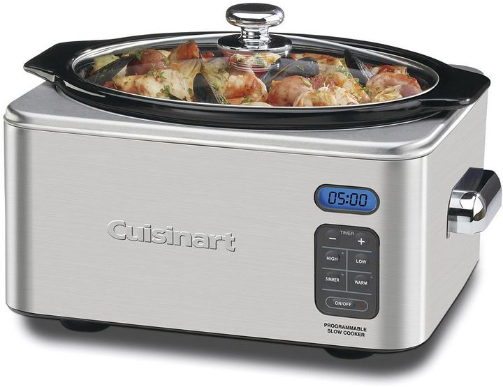 Cuisinart 6.5-qt. programmable slow cooker