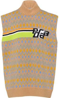 Prada Shetland sweater vest