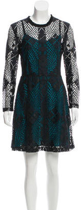 Sandro Lace A-Line Dress w/ Tags $125 thestylecure.com