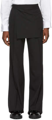 Yang Li Black Wide Trousers