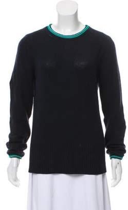 Derek Lam Cashmere Crew Neck Sweater Navy Cashmere Crew Neck Sweater
