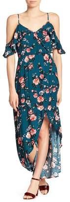 Cotton On & Co Deb Cold Shoulder Hi-Lo Dress