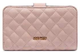 Nine West Snap Faux Leather Bi-Fold Wallet