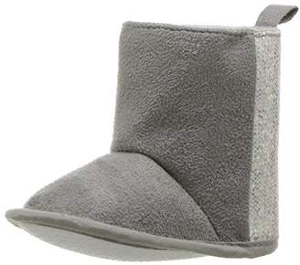 Luvable Friends Girls' Winter Boot with Glitter Crib Shoe
